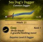 Sea Dog's Dagger