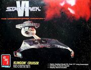 AMT Model kit 8229 Klingon Cruiser 1992