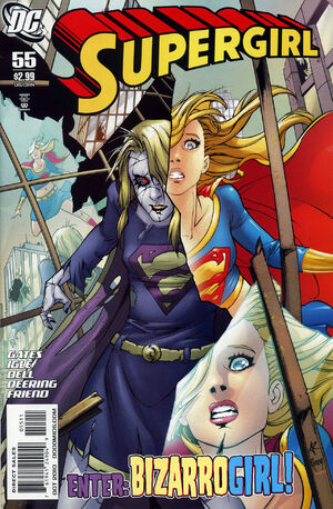 Cover for Supergirl #55