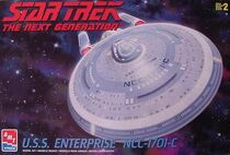 AMT Model kit 8001 USS Enterprise-C 1999