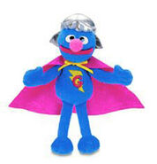 Gund-MiniPlush-SuperGrover-2004