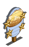 Potato and Onion Bread 4 Star Mastery Sign-icon
