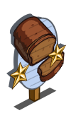Pumpkin Bread 2 Star Mastery Sign-icon