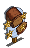 Pumpkin Bread 4 Star Mastery Sign-icon