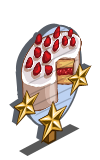 Strawberry Shortcake 3 Star Mastery Sign-icon