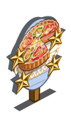 Vegetable Tart 4 Star Mastery Sign-icon