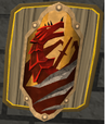 Mounted anti-dragonfire shield
