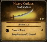 Heavy Cutlass