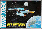 AMT Model kit S951 USS Enterprise 1973
