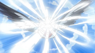EP658 Swellow de ash usando golpe areo