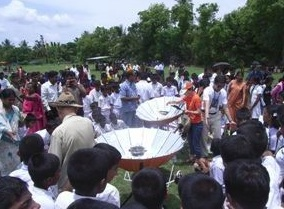 Sarvodaya solar demo 2