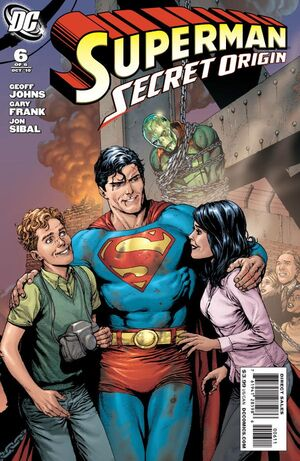 Cover for Superman: Secret Origin #6