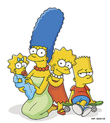 Marge, Maggie, Lisa &amp; Bart