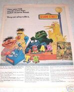Sesamestreettoys1971advertisement