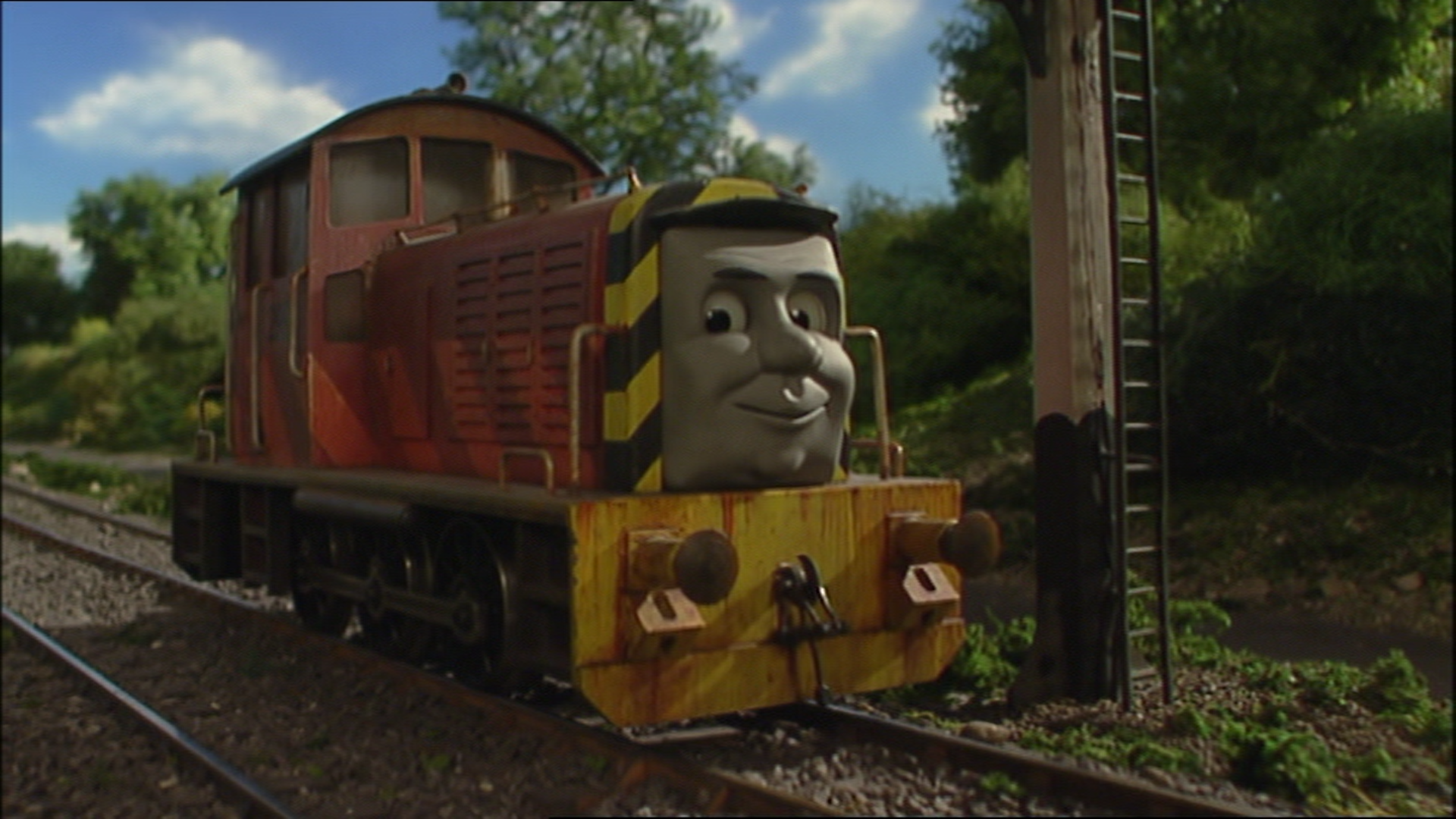 Duck and Oliver's Crazy Great Western Adventures: It's Thomas, but with a twist. Fish%28Season8%2930