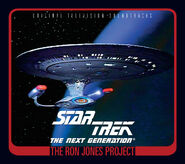 Cover OST TNG Ron Jones Project