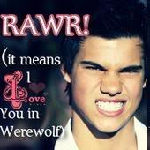 Rawr in werewolf