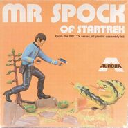AMT-Aurora Model kit 922 Spock 1972