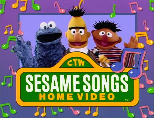 sesame songs home video muppet wiki