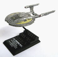 F-Toys ISS Enterprise-NX model