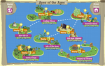 Apes of the Ages map