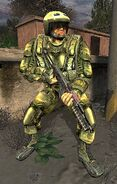 Build 1154 Spetsnaz trooper