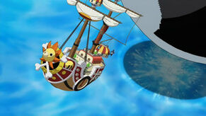 300px-Die Thousand Sunny springt mit dem Coup de Burst davon