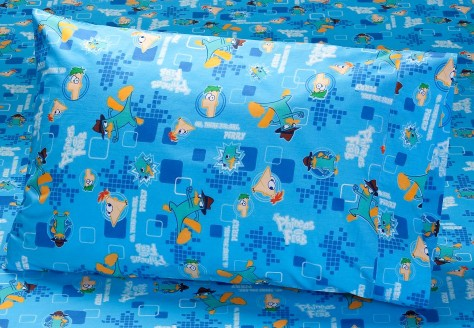 Image - P&F twin sheet set - Phineas and Ferb Wiki - Your