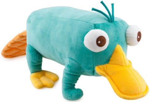 Image - Perry 12 inch plush toy.jpg - Phineas and Ferb ...