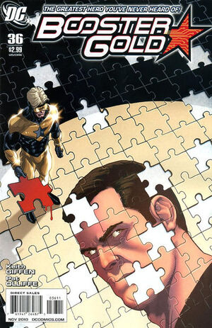 Cover for Booster Gold #36