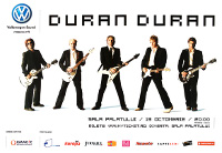 Poster duran duran 999