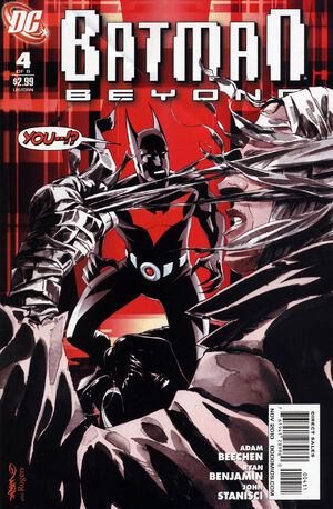 Cover for Batman Beyond #4