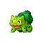 Bulbasaur Fire Red Leaf Green Shiny