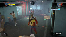 Dead rising 2 case 0 into turn right corridor