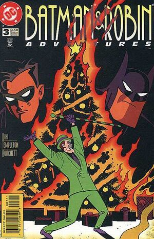Cover for Batman & Robin Adventures #3
