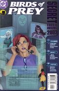 Birds of Prey Secret Files 2003