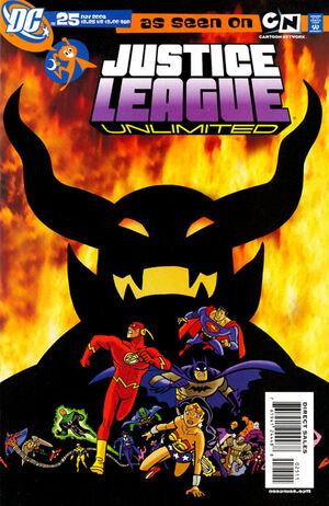 Cover for Justice League Unlimited #25