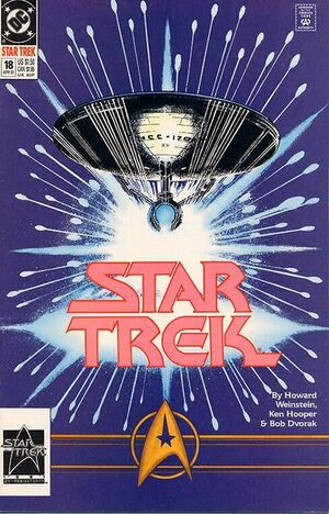Cover for Star Trek #18