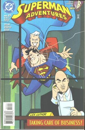 Cover for Superman Adventures #27