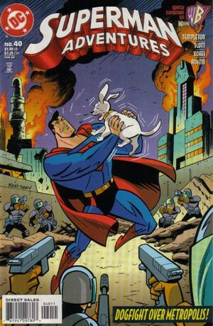 Cover for Superman Adventures #40