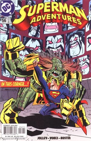 Cover for Superman Adventures #56