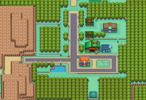 Viridian City HGSS