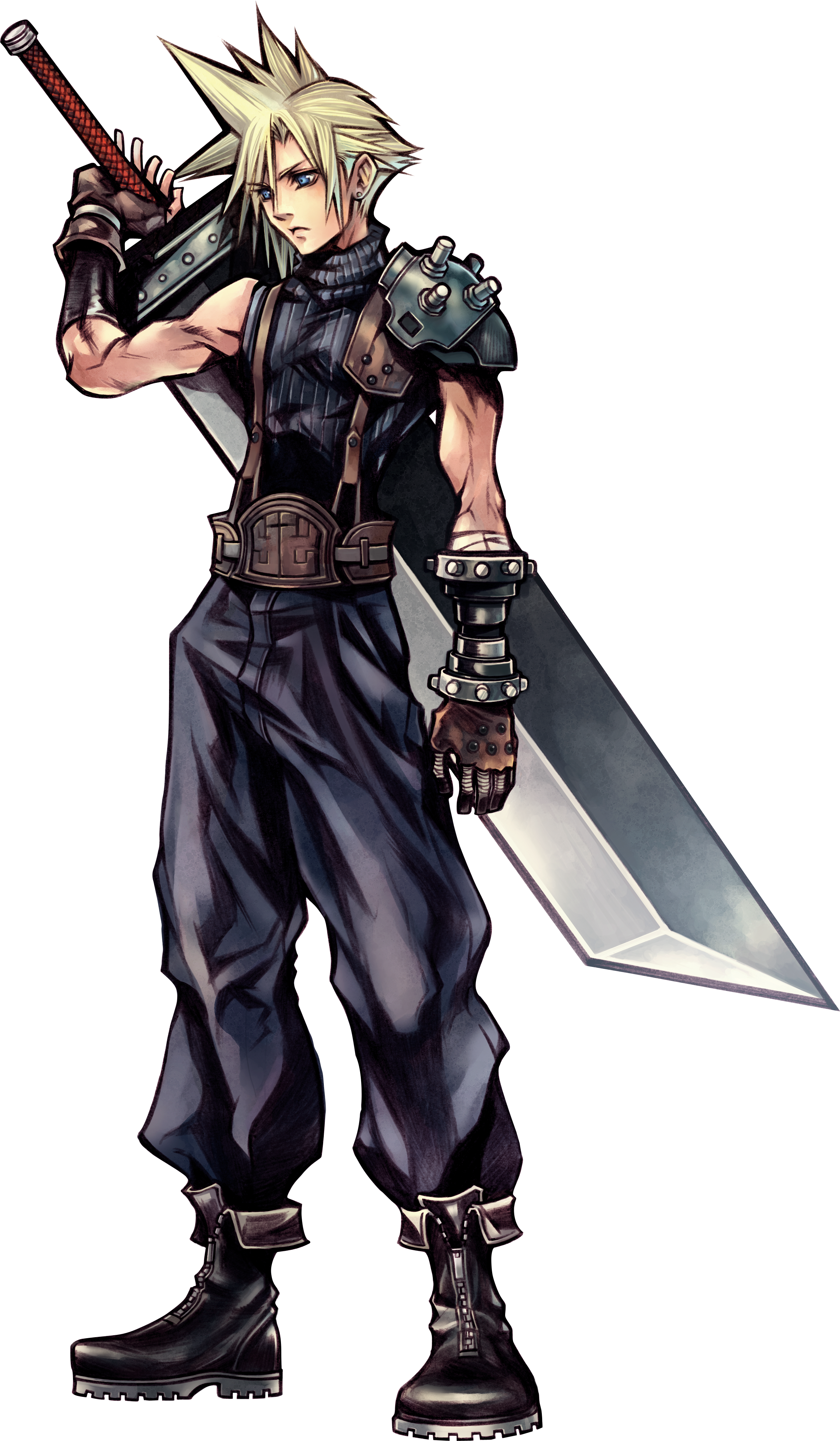 Final Fantasy Vii Remakes Cloud Design Has Changed Nomura Says It