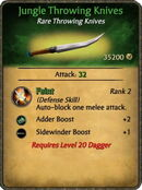 Jungle Throwing Knives
