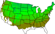 USA Hardiness 4 to 9