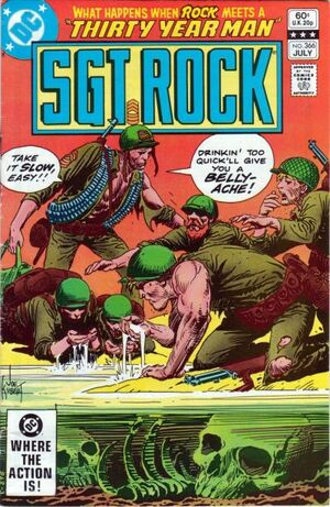 Cover for Sgt. Rock #366