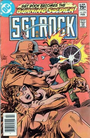 Cover for Sgt. Rock #373