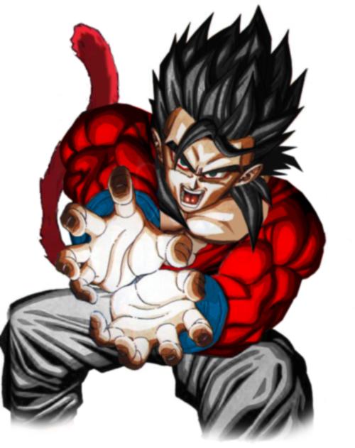 File:Gohan Super Saiyan 4 .jpg - Dragon Ball Wiki
