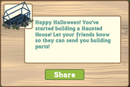 Haunted House first placement