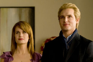 Carlisle and Esme New Moon